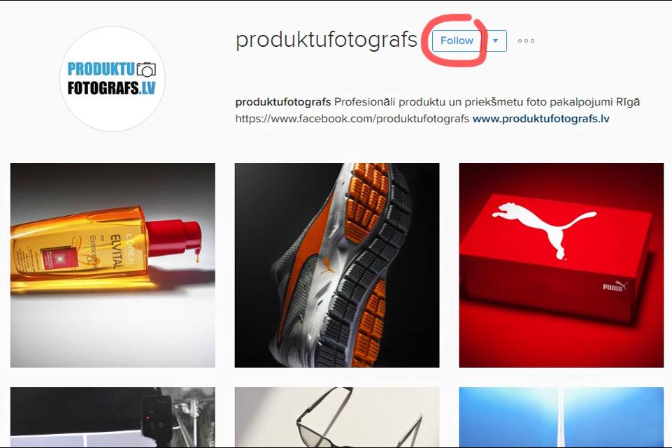 Produktufotografs.lv